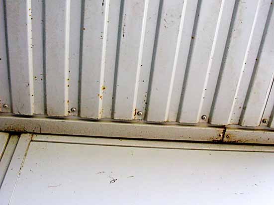 soffit corrosion
